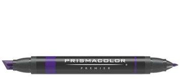 Prismacolor Premier Art Marker - Chisel-Fine Double-Ended Markers - Warm Black