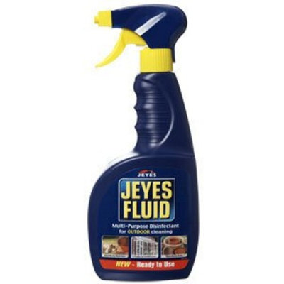 Jeyes Fluid Ready-To-Use Multi-Purpose Outdoor Spray, 750 ml