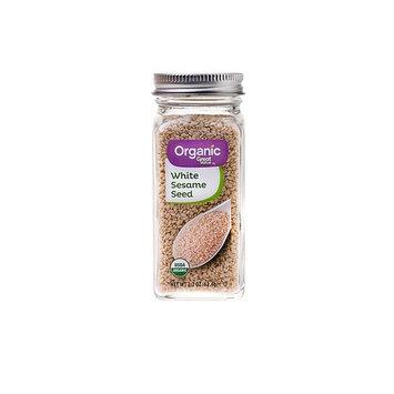 Great Value Organic White Seasame Seeds, 2.2 oz