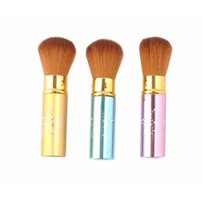 Stella Cosmetic 6 Pcs Soft Retractable Face Makeup Brush With Cap