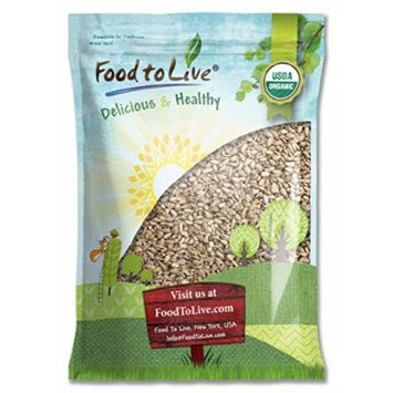 Food to Live Organic Sunflower Seeds (Raw, No Shell) (18 Pounds)