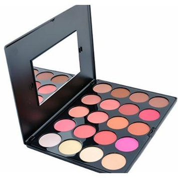Beauty Treats Professional 20 Matte & Shimmer Color Blush Contour Palette
