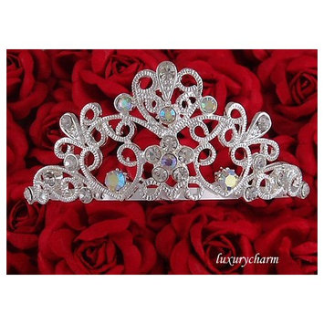 HALLOWEEN COSTUME Wedding Prom Party Tiara Comb H40