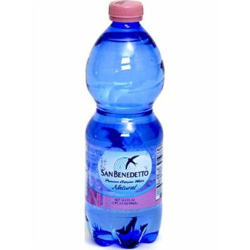 San Benedetto Natural Premium Artesian Water 16.9 oz Plastic Bottles (Pack of...