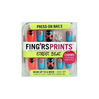 Fingrs Prints Street Beat Wrap Star Press-on Nails (Pack of 2)