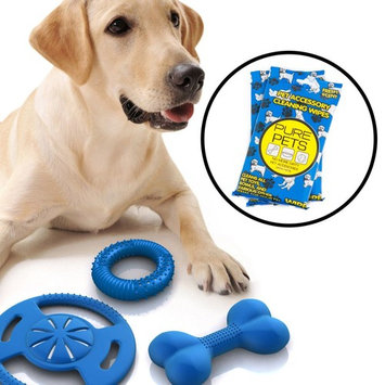72ct Pure Products Pet Accessory Wipes Dog Toy Bowl Cleaning Cat Fresh Scent