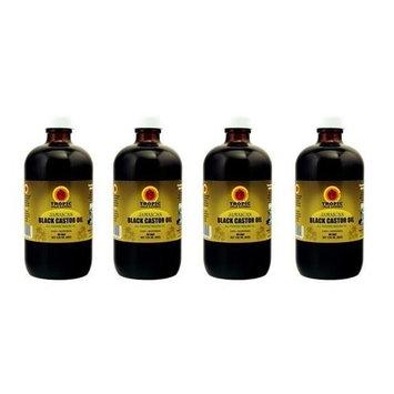 Jamaican Black Castor Oil 8 oz (Pack of 4)