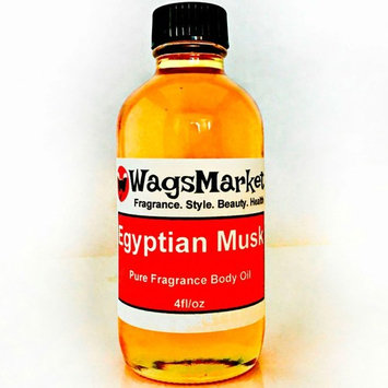 Egyptian Musk Oil, Choose from Roll On to 1oz - 4oz Glass Bottle, by WagsMarket - The Egyptian Musk Factory