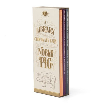 Vosges Haut-chocolat Vosges Chocolate, Mini Noble Pig Library, Assorted Chocolate, 3 Ct
