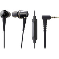 Audio-technica ATH-CKR100iS Sound Reality In-Ear High-Resolution Headphones with Mic & Control