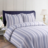 Printed Flannel 3-piece Duvet Cover Set