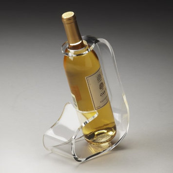 Butler 3266016 Hors D'oeuvres Crystal Clear Acrylic Wine Bottle Stand