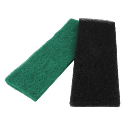 Black Green Reusable Sponge Filter Fresh Water Aquarium Filter 12.6