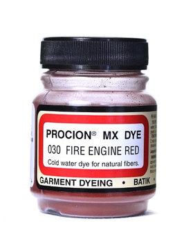 Jacquard Procion MX Fiber Reactive Dye fire engine red, 030, 2/3 oz. [pack of 6]