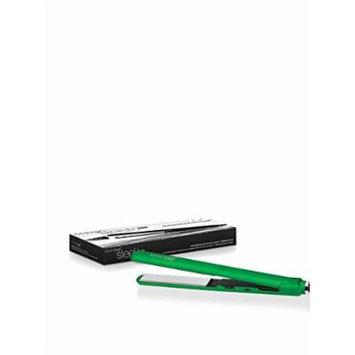 Fahrenheit Professinal Slim Line Rubber Flat Iron,Titanum Plate - Green