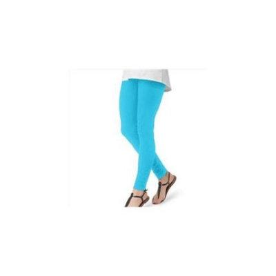OB831 Cotton Leggings Size - Large - Victoria Blue