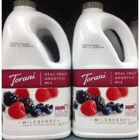 Torani Real Fruit Smoothie Mix WILDBERRY 64oz (2 Pack)