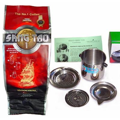 Creative 1 Trung Nguyen Ground Coffee (1 BAG w/8OZ PHIN)