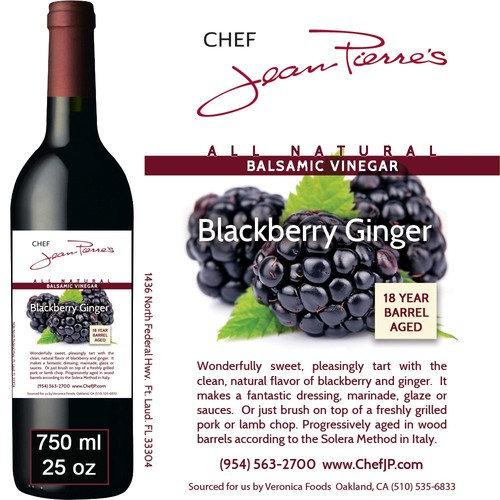 Blackberry Ginger Traditional Barrel Aged 18 Years Italian Balsamic Vinegar 100% All Natural