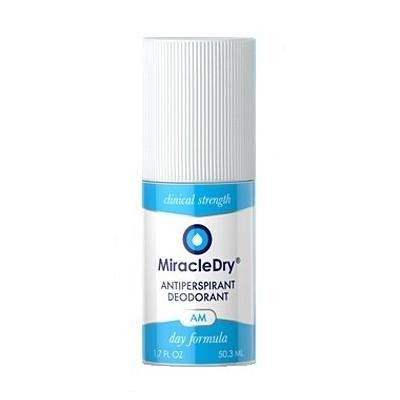 MiracleDry AM Antiperspirant - Clinical Strength for Treatment of Excessive Underarm Sweating