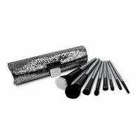 Royal Brush Gems 8 Piece Cosmetic Brush Set with Case, Smokey Quartz