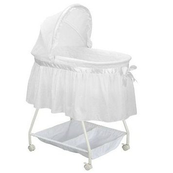 Delta - Sweet Beginnings Satin Lane Bassinet