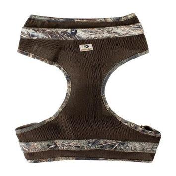 Mossy Oak Mesh Dog Harness, Duck Blind, Large