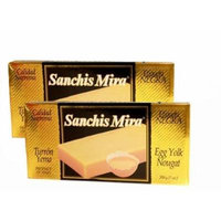 Sanchis Mira Turron de Yema 7 oz. Just arrived from Spain. pack of 2