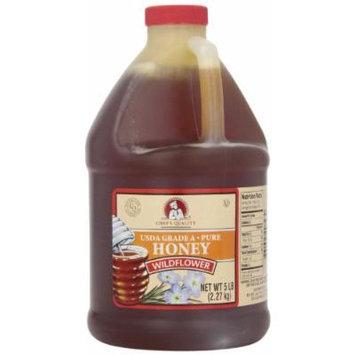 Chef's Quality Wildflower Honey, 5 Pound