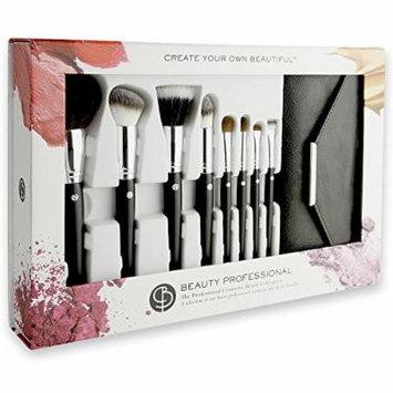 Beauty Professional Brush Set, Total 8 Ps Plus Case.