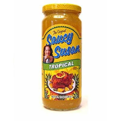 Saucy Susan Cooking Sauces: Tropical (Pack of 2) 19 oz Jars