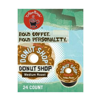 Coffee People The Original Donut Shop Coffee (2 Boxes of 24 K-Cups)