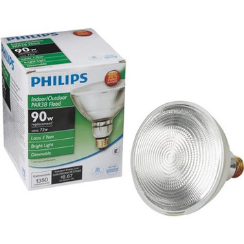 Philips Lightbulbs EcoVantage 50W Halogen PAR30L Dimmable Flood Light Bulb 419408
