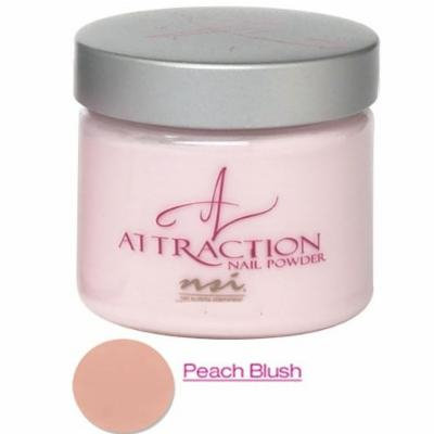 nsi Attraction Nail Powder - Peach Blush - Opaque - 40g / 1.4oz