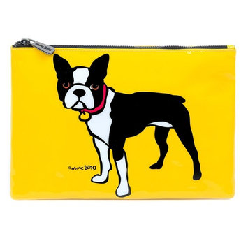 Marc Tetro Boston Terrier Cosmetic Pouch