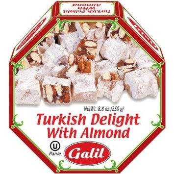 Galil Turkish Delight Octagon, Fig/Walnut, 8.8 Ounce [Almond]