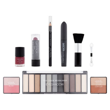 The Color Workshop Get The Look: Smoky Eyes Makeup Collection, 21 piece