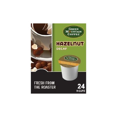 Green Mountain HAZELNUT DECAF Flavored Coffee 5 Boxes of 24 K-Cups