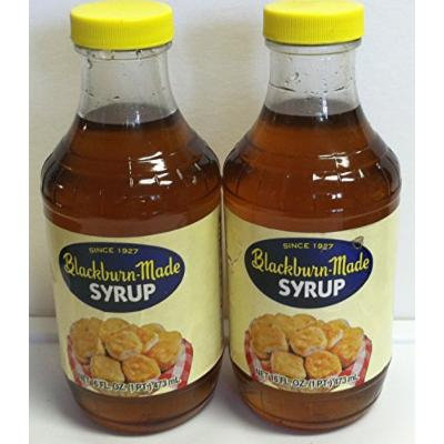 Blackburn-Made Syrup Two Pint Glass Containers