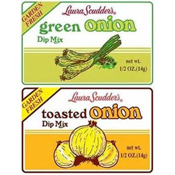 Laura Scudder's Green Onion & Toasted Onion Dip Mix (Pack of 12)