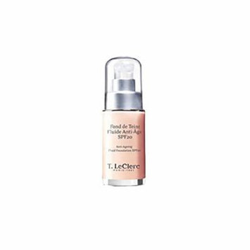 T. LeClerc Anti Ageing Fluid Foundation SPF 20 (Bottle) - # 06 Dore Satine - 30ml/1oz