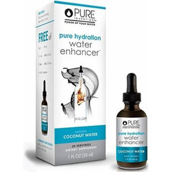 Pure Inventions - Pure Hydration - Coconut Water Enhancer (30 Servings) 1 Oz