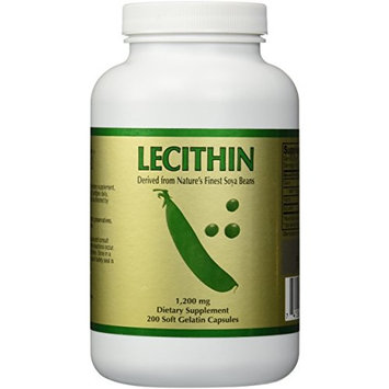 Lecithin (200 softgels)