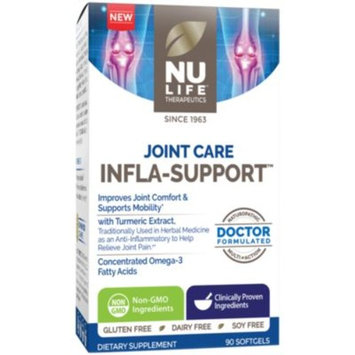 Joint Care Infla-Support (90 Softgels) by Nu Life at the Vitamin Shoppe