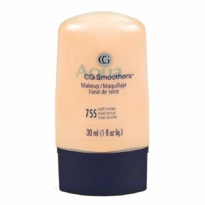 CoverGirl Smoothers Liquid Foundation, Soft Honey 755 1 fl oz (30 ml)