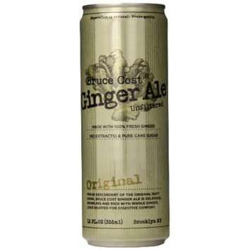 Bruce Cost Ginger Ale, Original, 12 Ounce (Pack of 12)