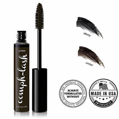 CUEPIDO Oomph-lash Long Wearing Waterproof Mascara (BROWNISH BLACK) - Umber 0.2oz/5.7g