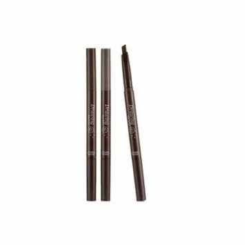 [Etude House] Drawing Eye Brow Pencil x 3PCS #02 Grey Brown