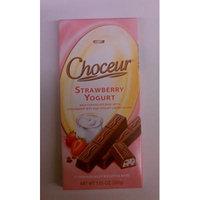 Choceur Milk Chocolate Bars with Strawberry and Yogurt (pack of 6)