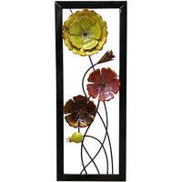 Stratton Home Decor Rustic Floral Panel I Wall Decor ()